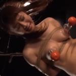 「星空もあ」緊縛さえて乳首吸引される美熟女巨乳OLが調教拷問